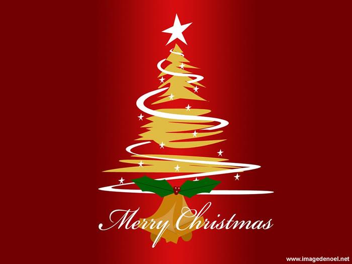 Image de Noël: Image de Noël Arbre