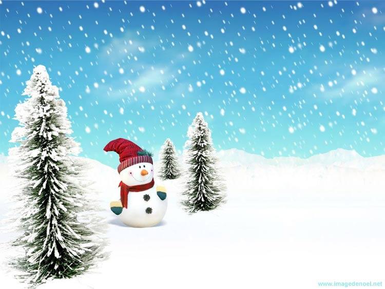 Image de Noël: Image de Bonhomme