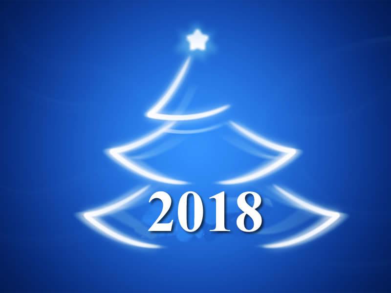 Image de Noël 2018: Arbre Noël 2018