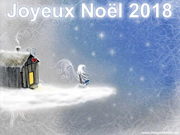 Image de Noël: Image Noël 2018 belle