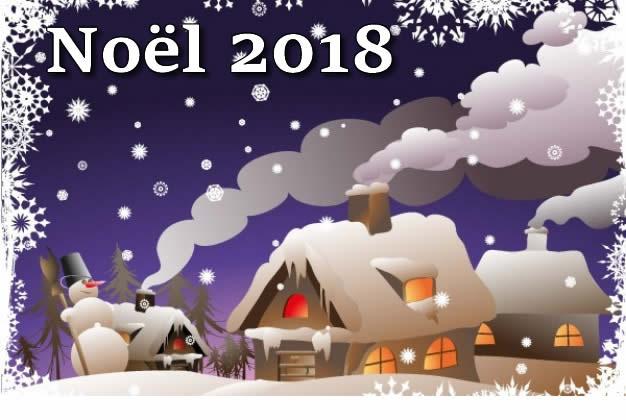 Image de Noël: Image Noël 2018