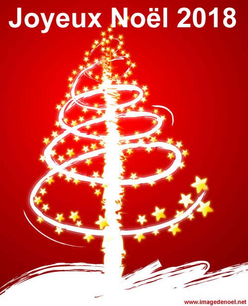Image de Noël: Image Sapin Noël 2018