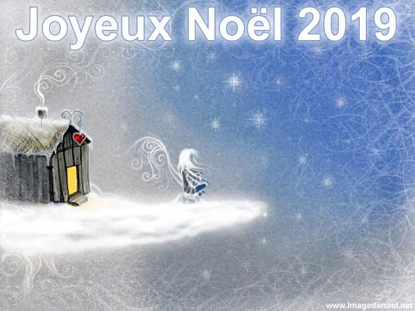 Image de Noël: Image Noël 2019 belle
