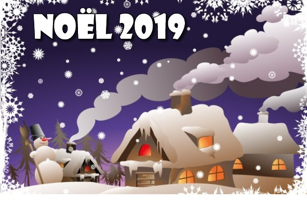 Image de Noël: Image Noël 2019