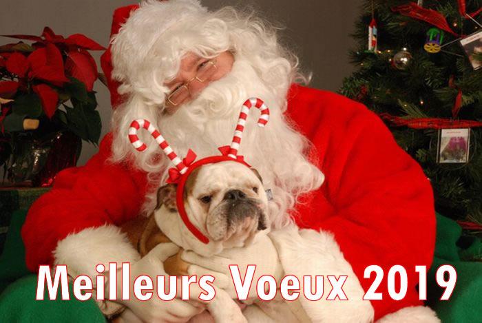Image de Noël: Image Père Noël 2019