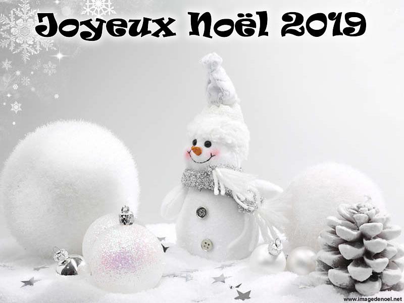 Image de Noël: Image Bonhomme 2019