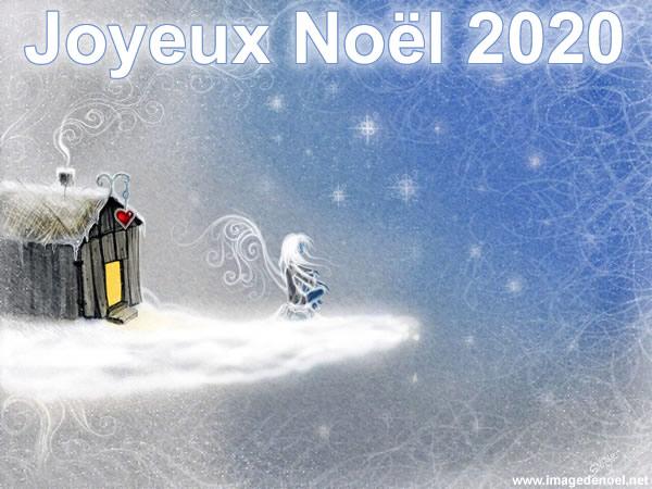 Image de Noël: Image Noël 2020 belle