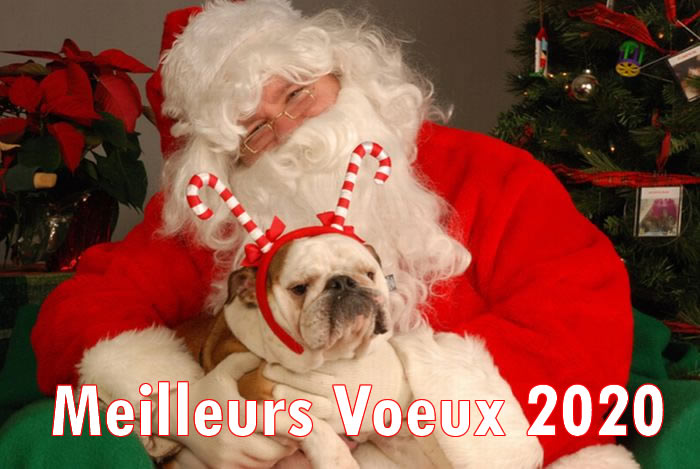 Image de Noël: Image Père Noël 2020