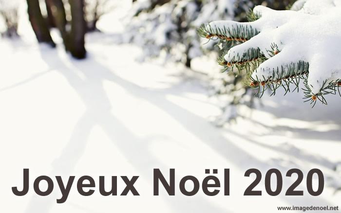 Image de Noël: Joyeux Noël 2020