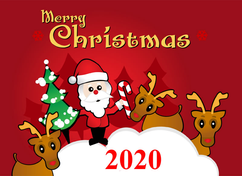 Image de Noël: Pere Noël 2020