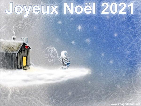 Image de Noël: Image Noël 2021 belle