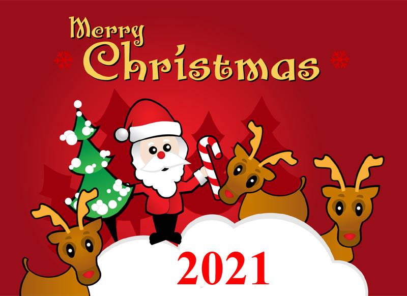 Image de Noël: Pere Noël 2021