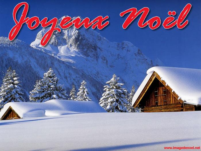 Image de Noël: Image Noël Paysage