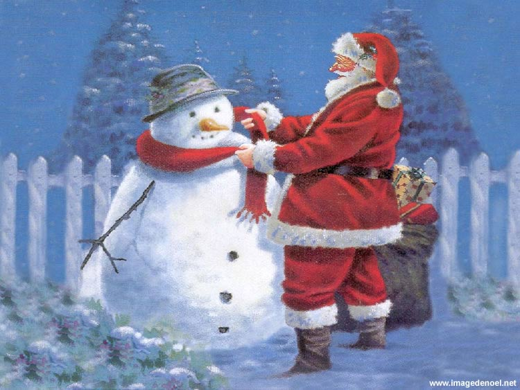 Image de Noël: Image Pere Noël