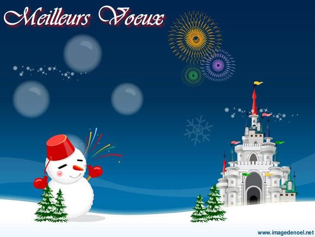 Image de Noël: Meilleurs Voeux