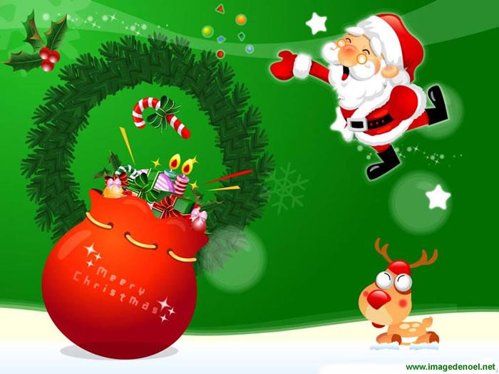 Image de Noël: Images de  Père Noël