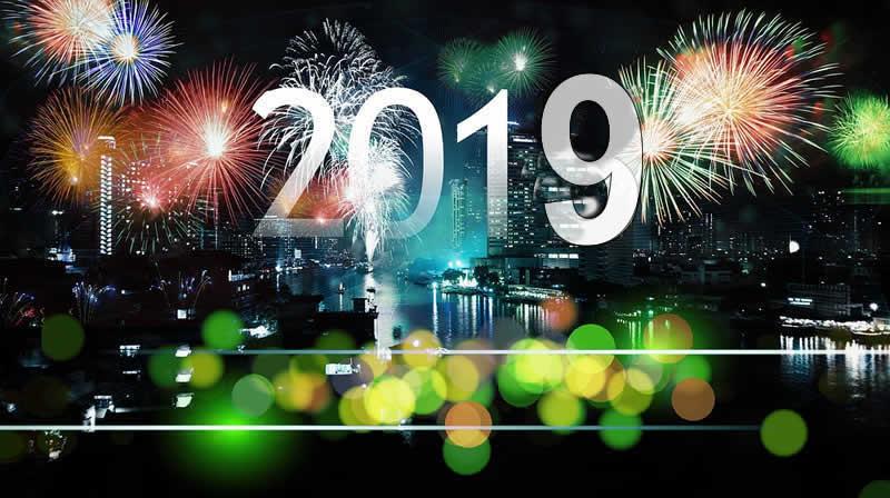 Image de Noël: Bonne Année 2019