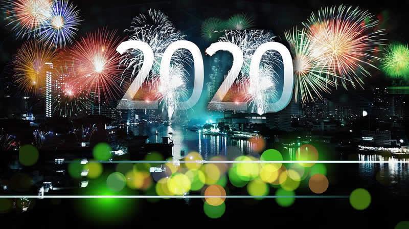 Image de Noël: Bonne Année 2020