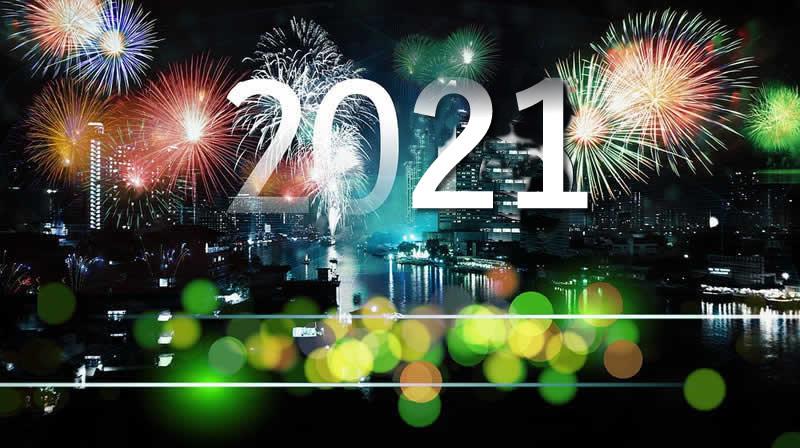 Image de Noël: Bonne Année 2021
