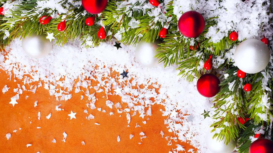 Image de Noël: Boules de Noël