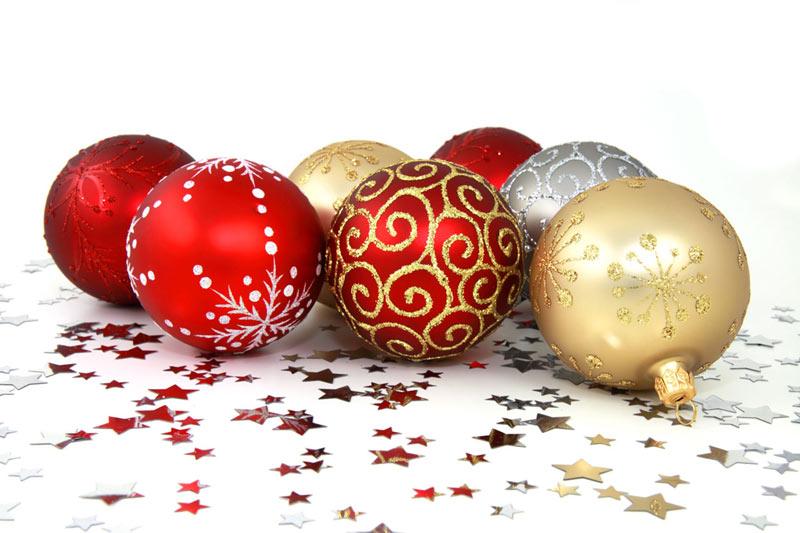 Image de Noël: Décorations de Noël