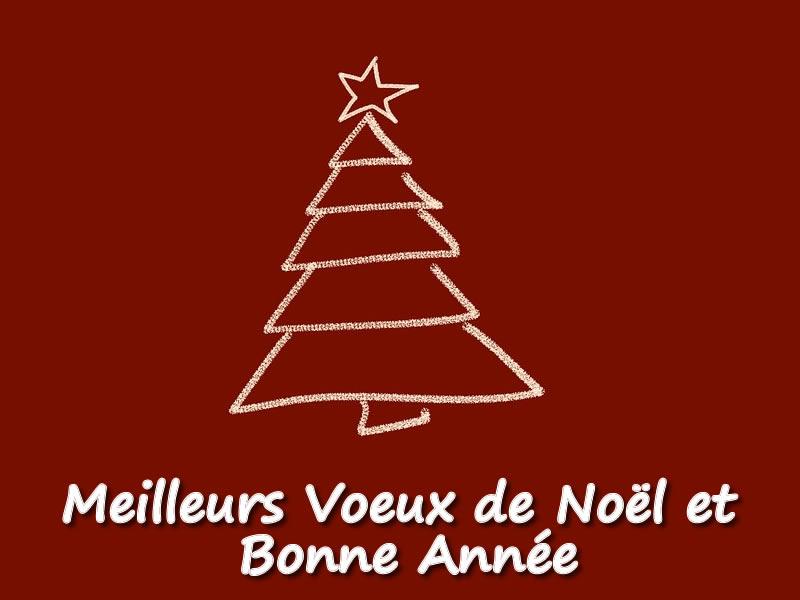 Image de Noël: Photo Voeux Noël